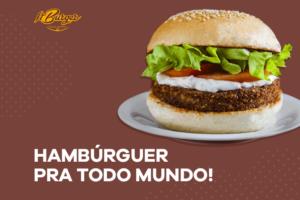 Conheça opções de Hambúrguer vegano e vegetariano