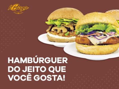 Hambúrguer para todos os gostos